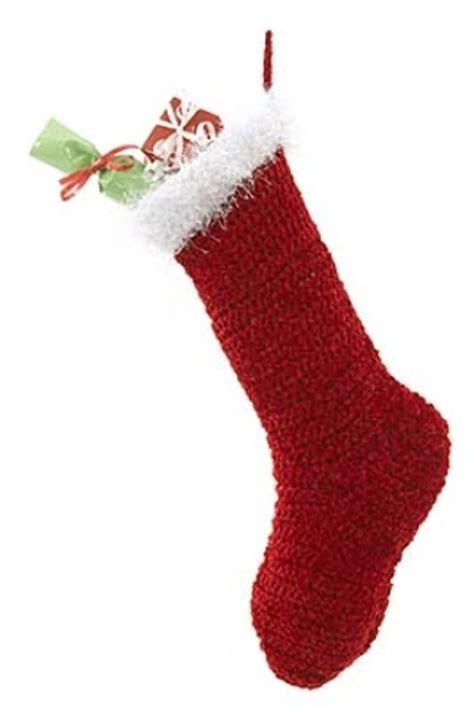 easy crochet pattern for christmas stockings new christmas stockings to crochet 18 free patterns