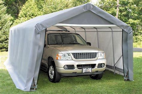 Portable Garage Tent 12x20x8 Peak Shelterlogic Shelter Portable Garage Carport