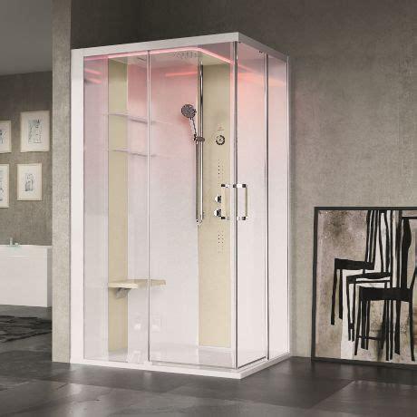 cabina doccia multifunzione 70x120 box idromassaggio skill a 100x80
