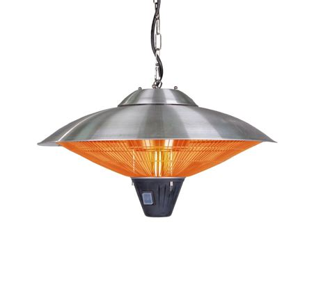 Mojave Sun Patio Heater Sense 60405 Stainless Steel Mojave Sun Hanging Stainless Steel Halogen Patio Heater