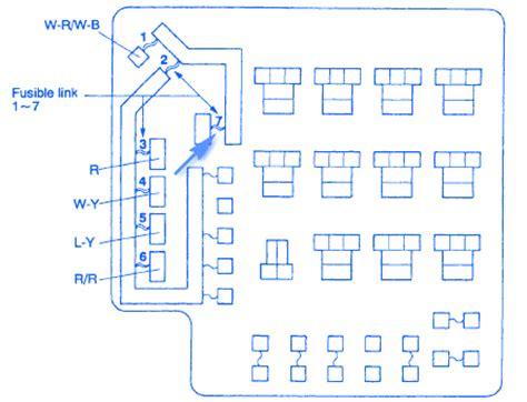 mitsubishi galant  fuse boxblock circuit breaker diagram carfusebox