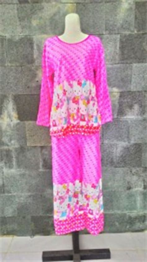 Baju Tidur Korea Piyama Korea Celana Panjang Lengan Pendek grosir baju tidur katun korea murah