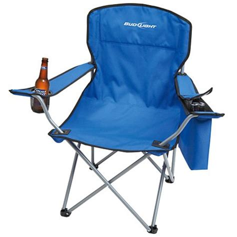 bud light recliner with cooler bud light folding chair with cooler 34 99