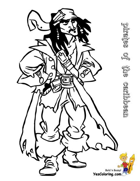 coloring pages disney pirates caribbean pirates caribbean coloring pages pirates of the