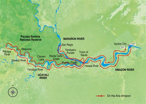 amazon map peru map amazon river map amazon cruise map aqua
