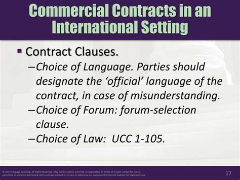 Contract Clause Letter Of Credit Ppt Chapter 31 International In A Global Economy