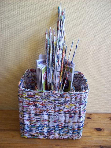 Waste Paper Craft - pin by diana leigh on recycle reuse repurpose