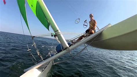 catamaran flying a hull flying a hull youtube