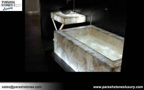 Semi precious Bathtub & Bathroom Vanity