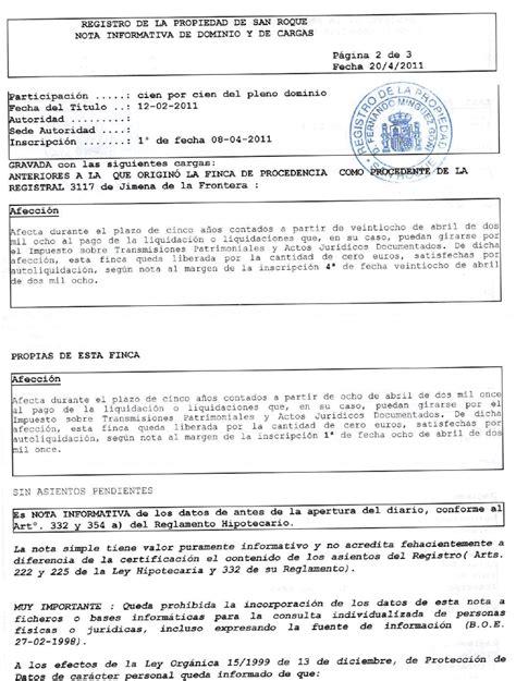 el registro de la noticias de san mart 205 n del tesorillo la inscripci 243 n en el registro de la propiedad permite