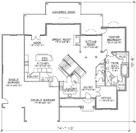 5 bedroom luxury house plans luxury style house plans 3704 square foot home 2 story