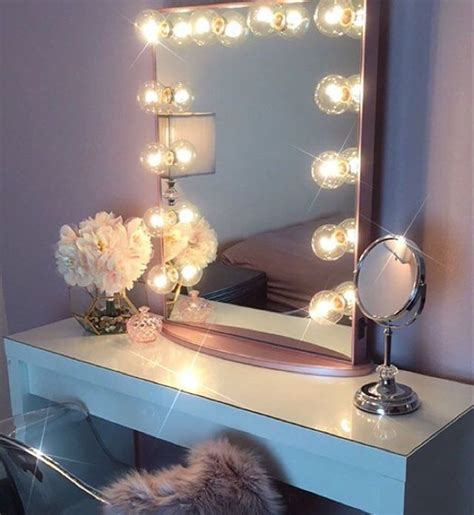 makeup mirror with lights and desk advantages having vanity lighted mirror the homy design