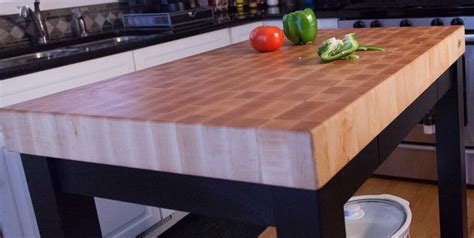 kitchen island chopping block butcher block chopping block end grain carts mcclure