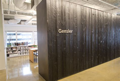 Partition Wall Design by Gensler Shou Sugi Ban Resawn Timber Co