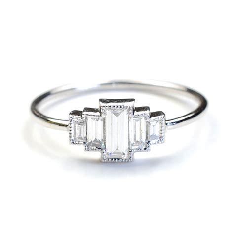 engagement ring engagement ring baguette engagement