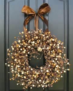 wreath ideas fall wreath ideas shelterness