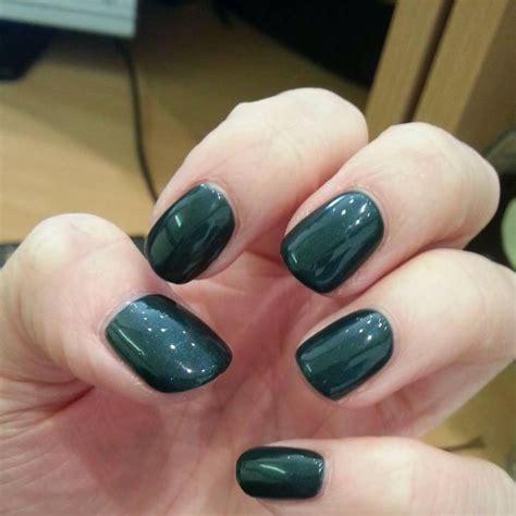 serene green gel colour shellac