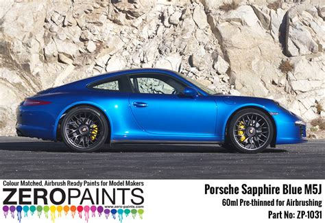 porsche blue paint code porsche paint 60ml zp 1031 zero paints