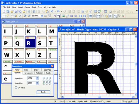 typography editor font editor software