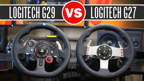 volante logitech g27 logitech g29 driving racing wheel vs logitech g27