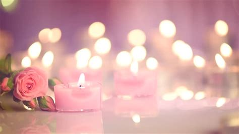 Home Decoration For Wedding by Candles Light Background Heart Shaped Valentine S Day