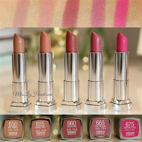Lipstik Maybelline Matte the 25 best maybelline lipstick ideas on