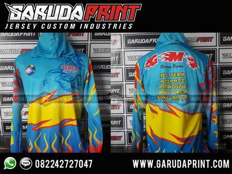 desain jaket balap pembuatan baju jaket team merpati balap garuda print