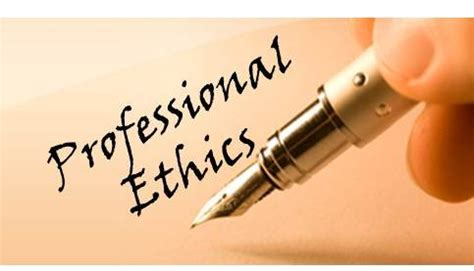 Building Work Psykology And Professional Ethics professional ethics quot a personal perspective quot linkedin