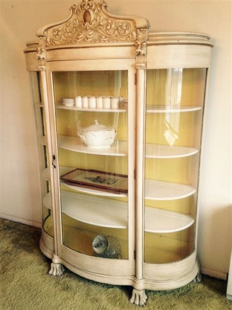 solid oak china cabinet china cabinet curved glass solid oak collectors weekly