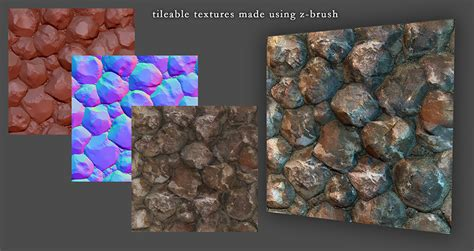 zbrush tutorial texturing first time posting tileable texture made using zbrush