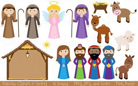 printable nativity scene characters nativity scene characters clipart clipartxtras