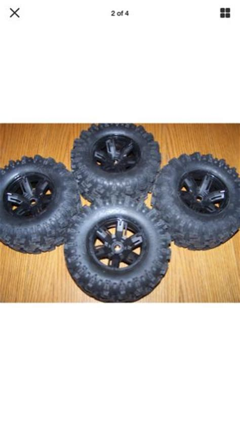 Madmax Traxxas X Maxx Wheels Tires On Rims 1 5 Hpi Km Baja 5b traxxas x maxx 8s tires wheels r c tech forums