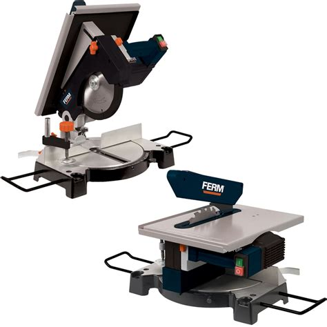 combined mitre and table chop saw 1300w multifunction 240v