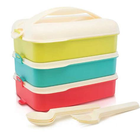 Tropic Snap And Stack Lunch Set tropic snap n stack lunch set dapurnesia