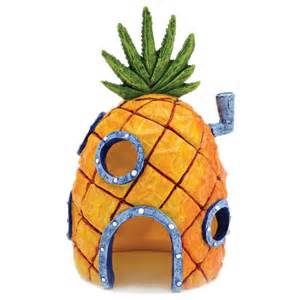 Spongebob Halloween Decorations Penn Plax Spongebob Squarepants Pineapple House With Swim