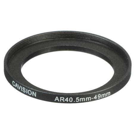 40 5 52mm Step Up Ring cavision 40 5 49mm threaded step up adapter ring ar49 40 5d6