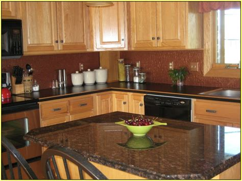 granite countertops with cabinets kitchens best granite countertops for oak cabinets with