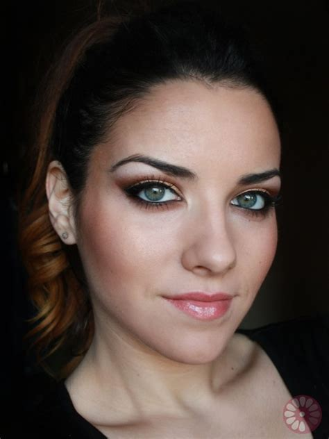 party makeup tutorial party makeup gold copper eyes tutorial