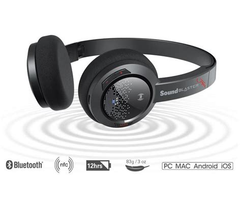 Headset Bluetooth Creative creative sound blaster jam ultra light