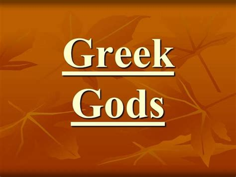 ppt templates for greek greek gods powerpoint authorstream
