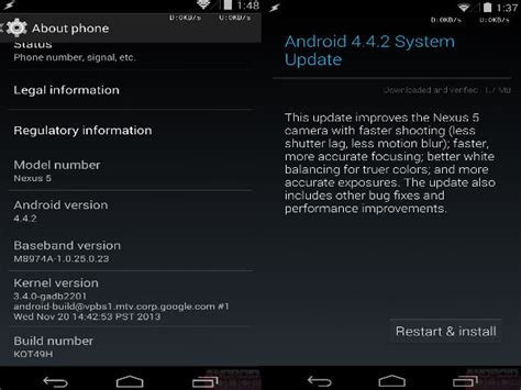 android update problems releases android 4 4 2 update to meet the major