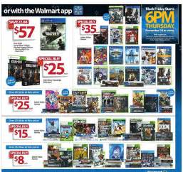 best xbox one black friday deals walmart walmart black friday 2016 deals nearly 90 games will be