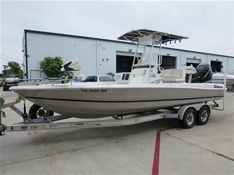 triton boats houston tx triton boats for sale near houston tx boattrader