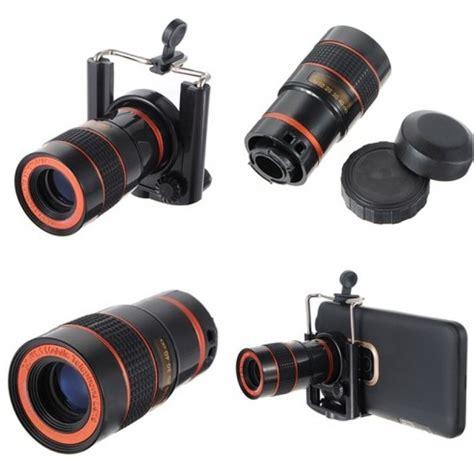 Mobile Phone Telescope 8x Zoom universal 8x zoom mobile phone telescope lens with clip from category mobile phone accessories