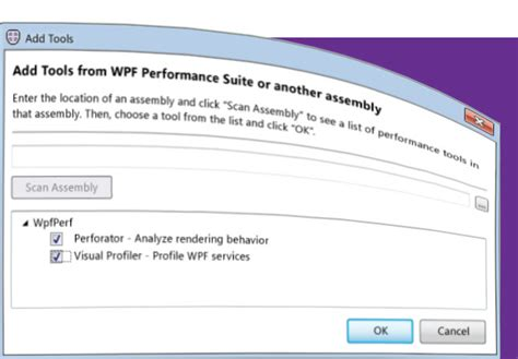 xaml layout performance free tool wpf performance suite visual studio magazine