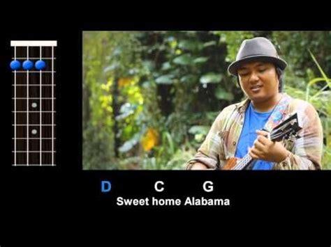 lynyrd skynyrd ukulele quot sweet home alabama quot lynyrd skynyrd ukulele play along