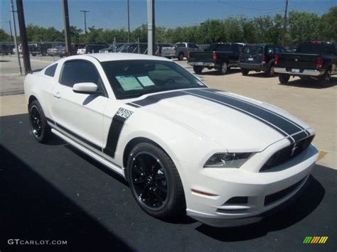 white mustang 302 performance white 2013 ford mustang 302 exterior