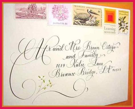 correct way to write a wedding invitation proper way to write address sop exles