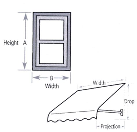 awning height awnings window awnings how to measure for fabric