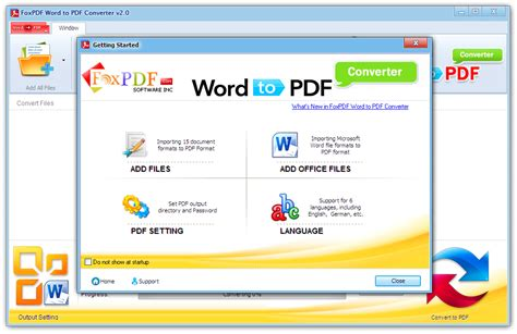 convert pdf to word using word foxpdf word to pdf converter word to pdf converter